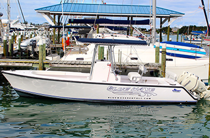 Stuart 26' from our boat rental