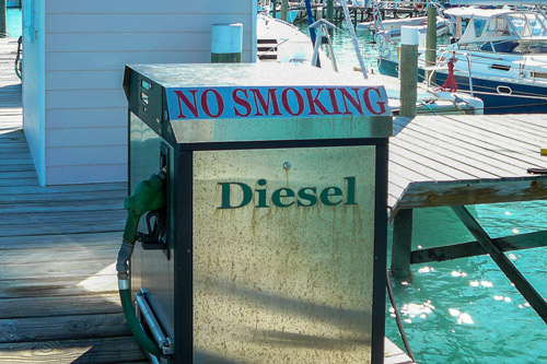Harbour View Marina in Marsh Harbour - We supply diesel and gas