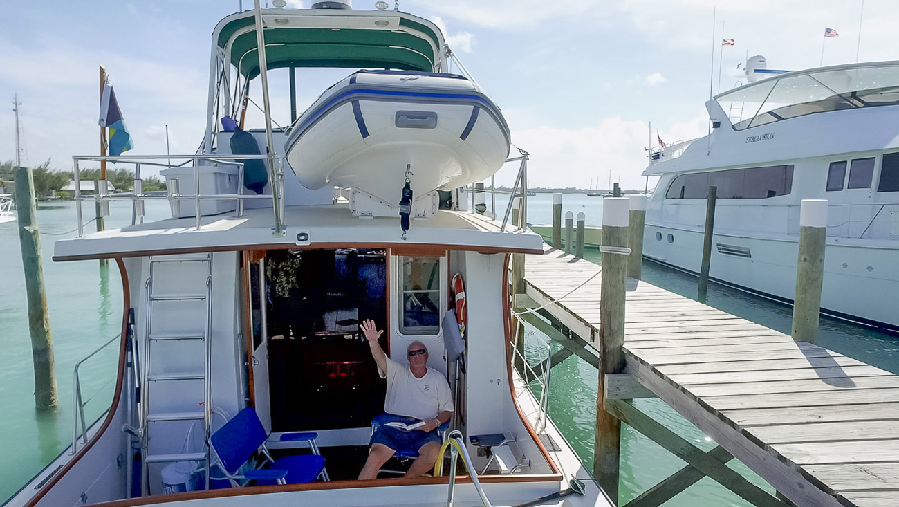 Harbour View Marina in Marsh Harbour, Abaco - A happy customer